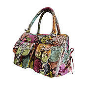 Сумки и аксессуары handmade. Livemaster - original item Bag leather Python CAMILLA. Handmade.