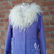 Одежда handmade. Livemaster - original item The jacket is felted :