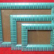 Сувениры и подарки handmade. Livemaster - original item Frame set of 3pcs. 10h15, 15h21, 21h30cm. Handmade.