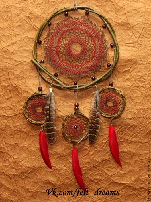 """Ловцы снов ручной работы. Ярмарка Мастеров - ручная работа. Купить Ловец снов """"Аламеда"""", в переводе с индейского-роща тополя. Handmade."""
