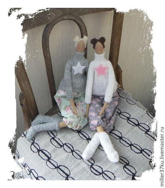 Куклы Тильды ручной работы. Ярмарка Мастеров - ручная работа. Купить Подружки Tilda)). Handmade. Кукла текстильная, тильда-девочка