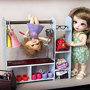Куклы и игрушки ручной работы. Ярмарка Мастеров - ручная работа Вешалка для кукольной одежды.. Handmade.