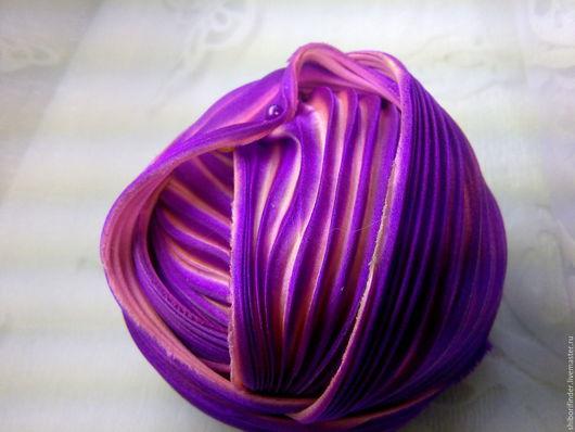 Для украшений ручной работы. Ярмарка Мастеров - ручная работа. Купить Ленты Шибори Silk Ribbons Shibori №36 Аромат Примулы. Handmade.