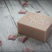 """Косметика ручной работы. Ярмарка Мастеров - ручная работа """"Розовый свет"""" мыло с нуля. Handmade."""