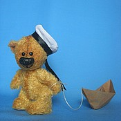 Куклы и игрушки ручной работы. Ярмарка Мастеров - ручная работа мишка Валерик. Handmade.