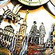 Yekaterinburg city clock, original wall clock made of wood. Watch. Original wall clocks. My Livemaster. Фото №5