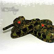 Обувь ручной работы handmade. Livemaster - original item Sneakers Camouflage Tanks. Handmade.