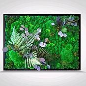 Картины ручной работы. Ярмарка Мастеров - ручная работа Фитокартина Волшебный лес. Handmade.
