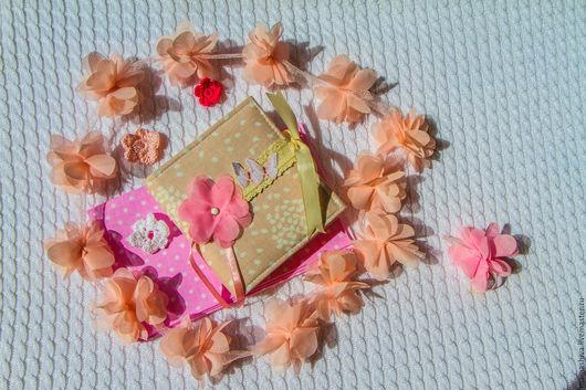 Персональные подарки ручной работы. Ярмарка Мастеров - ручная работа. Купить Инстабук( фотоальбом). Handmade. Бледно-розовый, ткань для творчества
