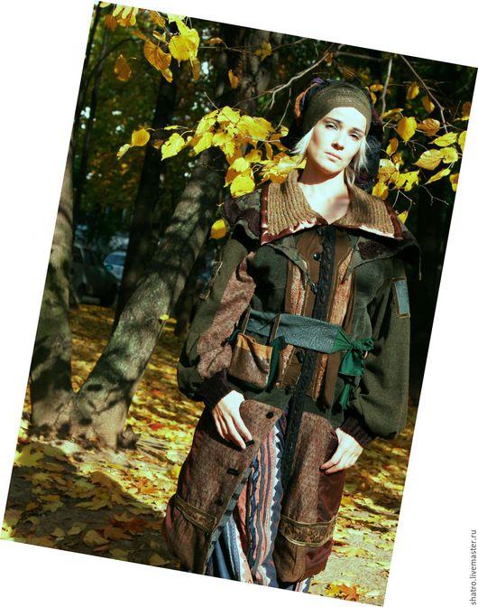 Верхняя одежда ручной работы. Ярмарка Мастеров - ручная работа. Купить Пальто НА КАЖДЫЙ ДЕНЬ. Handmade. Хаки