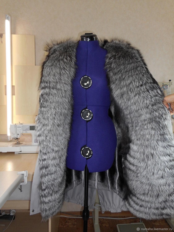 Женская зимняя одежда с мехом купить