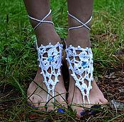 Украшения ручной работы. Ярмарка Мастеров - ручная работа Украшение на ногу. Handmade.