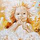 Sunny dandelion. Pictures. Annet Loginova. My Livemaster. Фото №4