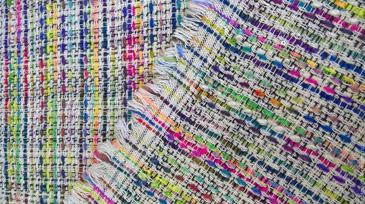 """Шитье ручной работы. Ярмарка Мастеров - ручная работа. Купить Костюмная ткань """"Шанель"""". Handmade. Комбинированный, итальянские ткани"""