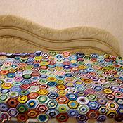 """Для дома и интерьера ручной работы. Ярмарка Мастеров - ручная работа Плед """" радуга"""". Handmade."""