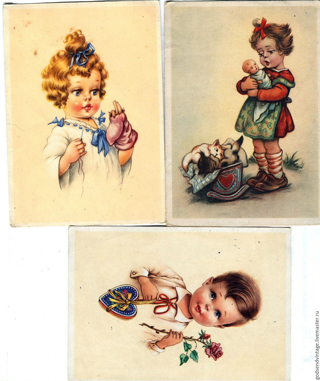 Авито винтажные открытки