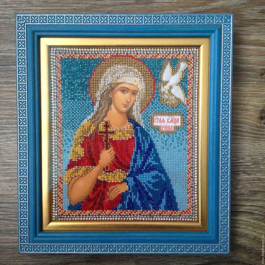 Икона освящена в Храме Покрова Пресвятой Богородицы в Ясенево