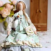 """Куклы и игрушки ручной работы. Ярмарка Мастеров - ручная работа Кукла тильда Хлоя - """"летняя прохлада"""". Handmade."""