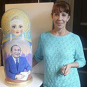 Подарки к праздникам ручной работы. Ярмарка Мастеров - ручная работа Матрёшка портретная - 70 см. Handmade.