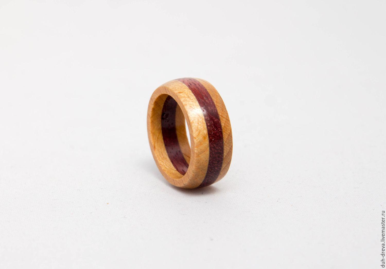 Ring of wood: beech, amaranth