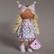 Куклы и игрушки ручной работы. Ярмарка Мастеров - ручная работа Совушка с домиком. Handmade.