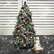 Сувениры и подарки handmade. Livemaster - original item Christmas tree with a snowman (Soviet cartoons). Handmade.