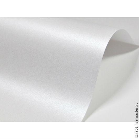 """Открытки и скрапбукинг ручной работы. Ярмарка Мастеров - ручная работа. Купить Метализированая дизайнерская  бумага """"Белый мрамор"""" 20х30.  120 гр.. Handmade."""
