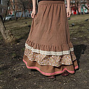Одежда handmade. Livemaster - original item Copy of юбка. Handmade.