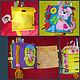 Развивающие игрушки ручной работы. детская развивающая книга из фетра. Светлана Лата  (Karasenochek). Ярмарка Мастеров. Развитие мелкой моторики