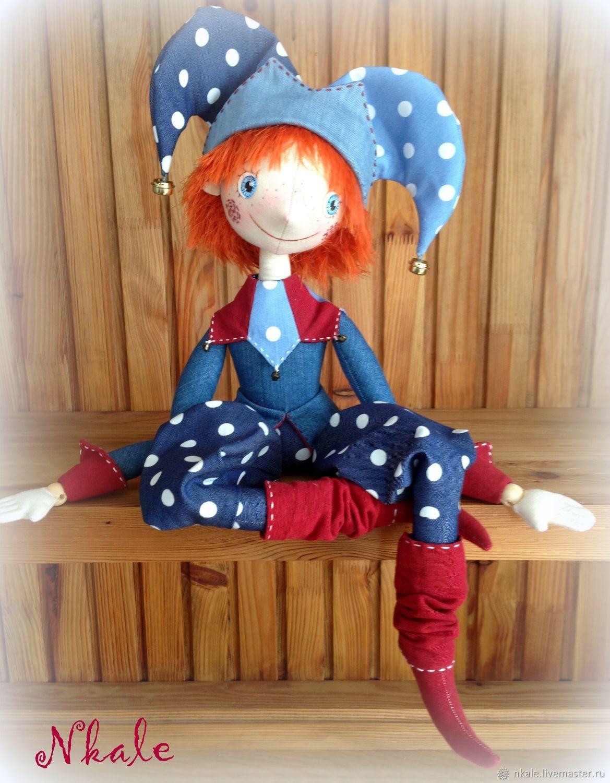 Куклы и игрушки ручной работы. Ярмарка Мастеров - ручная работа. Купить  Видеокурс Петрушка. ... b895c5825ca