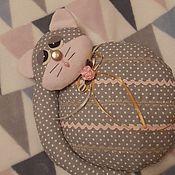 Игрушки ручной работы. Ярмарка Мастеров - ручная работа Спящий котик. Handmade.