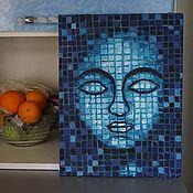 Картины и панно ручной работы. Ярмарка Мастеров - ручная работа Mosaic Buddha. Handmade.