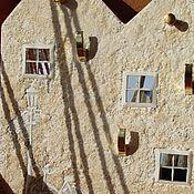 Для дома и интерьера ручной работы. Ярмарка Мастеров - ручная работа ключница вешалка домики домики. Handmade.