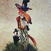 Для дома и интерьера ручной работы. Ярмарка Мастеров - ручная работа Лис- джентльмен. Handmade.