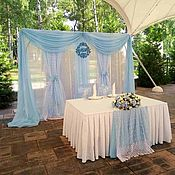 Свадебный салон ручной работы. Ярмарка Мастеров - ручная работа Оформление свадьбы в голубом цвете. Handmade.