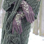 Одежда ручной работы. Ярмарка Мастеров - ручная работа Пальто Благородный Зеленый. Handmade.