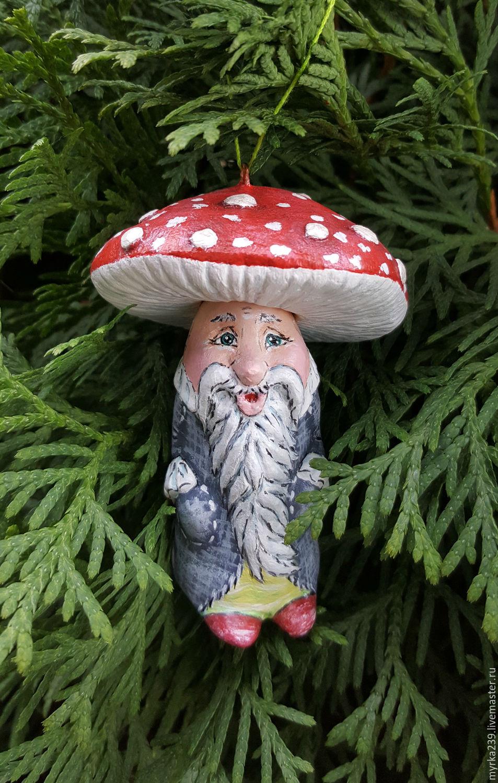Как сделать грибы из папье-маше своими руками