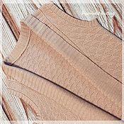 Одежда ручной работы. Ярмарка Мастеров - ручная работа Жилет женский Абрикосовая осень. Handmade.