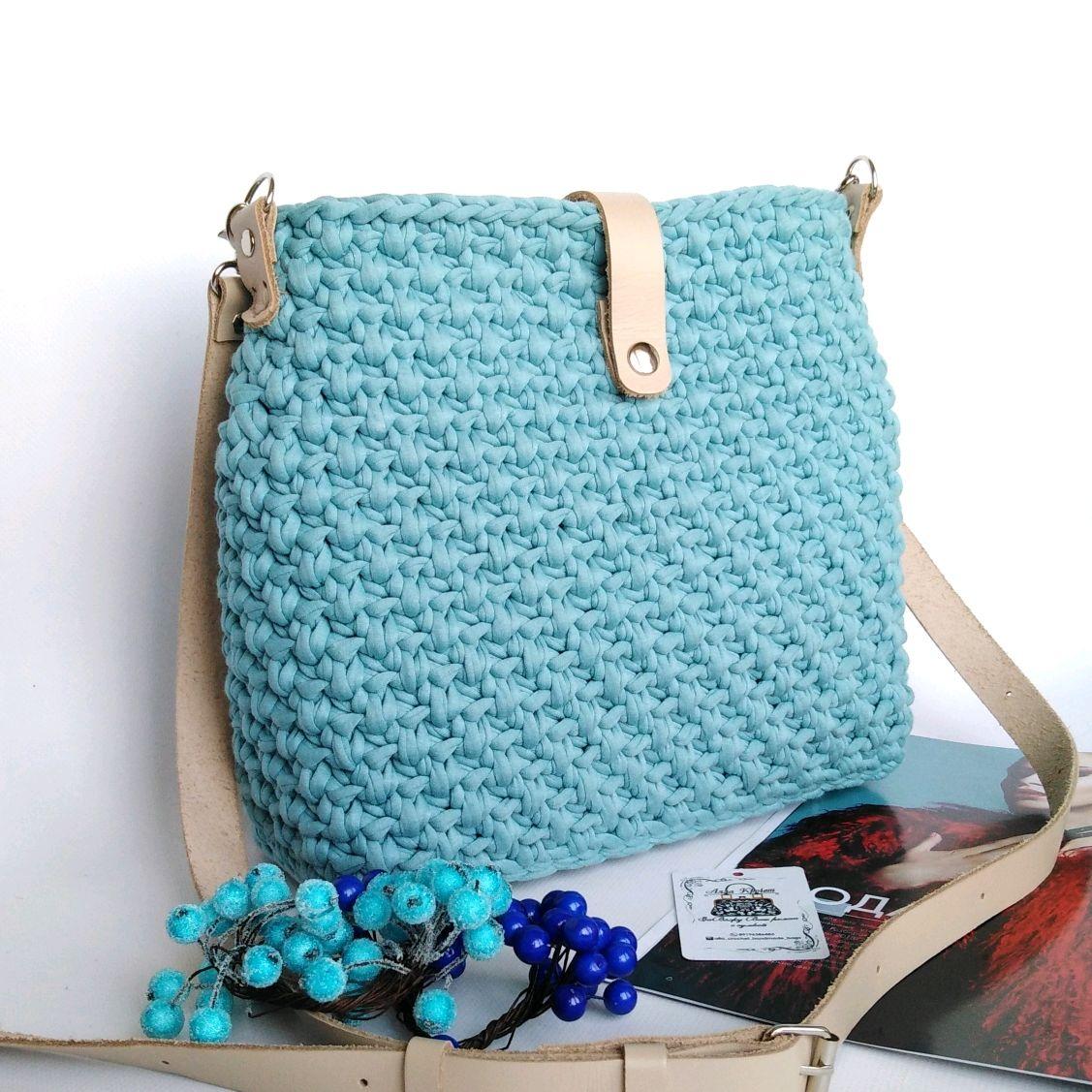 0373b74f8713 Женские сумки ручной работы. Ярмарка Мастеров - ручная работа. Купить  Вязаная сумка