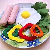 Куклы и игрушки ручной работы. Ярмарка Мастеров - ручная работа Еда из фетра. Handmade.