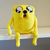 Куклы и игрушки ручной работы. Ярмарка Мастеров - ручная работа Время приключений. Adventure Time Джейк каркас. Handmade.