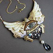 Украшения handmade. Livemaster - original item Necklace ILLUSIONS beads, thread, sequins, kanitel, beat. Handmade.