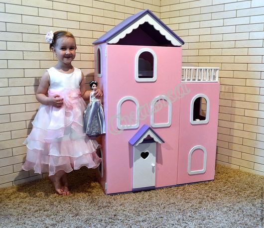 Кукольный дом ручной работы. Ярмарка Мастеров - ручная работа. Купить Кукольный домик. Handmade. Кукольный дом, миниатюра для кукол