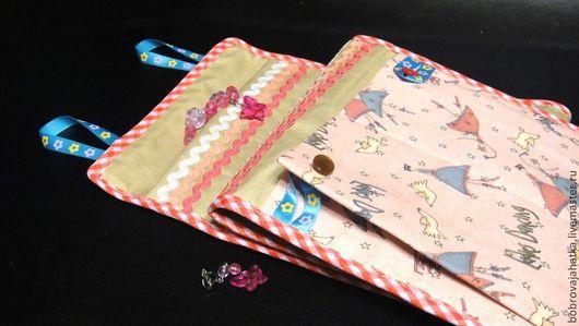 Детская ручной работы. Ярмарка Мастеров - ручная работа. Купить Детские кармашки в шкафчик для садика Принцесса Подарок девочке. Handmade.