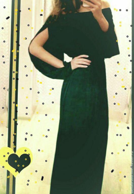 Платья ручной работы. Ярмарка Мастеров - ручная работа. Купить в греческом стиле  платье шелк матовыйт. Handmade. Бежевый