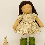 Куклы и игрушки handmade. Livemaster - original item Waldorf doll Paula, 35 cm. Handmade.
