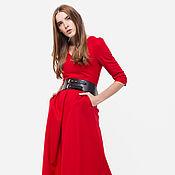 Одежда handmade. Livemaster - original item Dress of costume fabric, with pockets Ksenia Knyazeva. Handmade.
