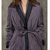 Одежда handmade. Livemaster - original item Coat insulated at the waist with pockets. Handmade.