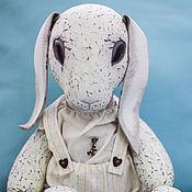 Куклы и игрушки ручной работы. Ярмарка Мастеров - ручная работа Белый заяц. Handmade.