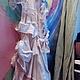Платья ручной работы. платье БОХО. TARA. Интернет-магазин Ярмарка Мастеров. Женская одежда, бежевый, шифон